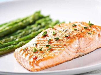 Try a piece of grilled salmon instead of your usual steak