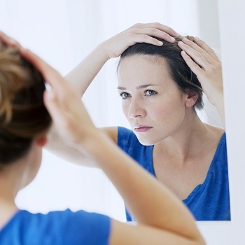 Pattern baldness can affect woman as well as men