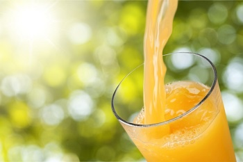 A glass of fresh orange juice is one way to shake of Freshers' Flu.