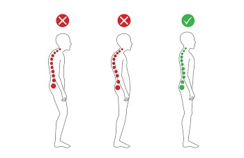How to achieve good posture