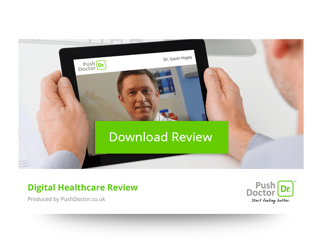 Push Doctor Digital Healthcare Review promotion