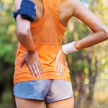 back pain runner