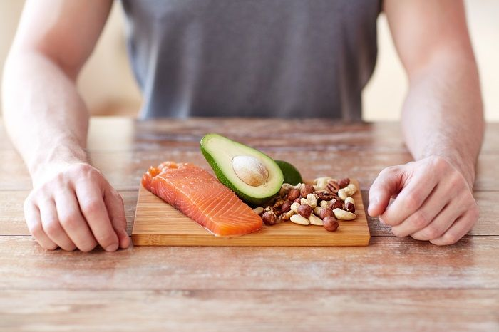 Food high in unsaturated fat