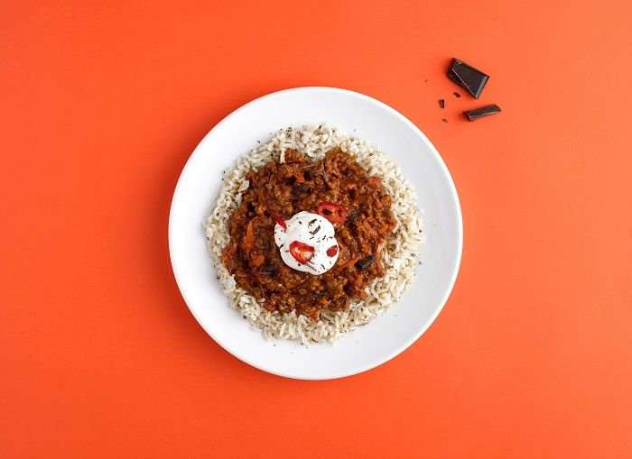 Chocolate Chilli con Carne
