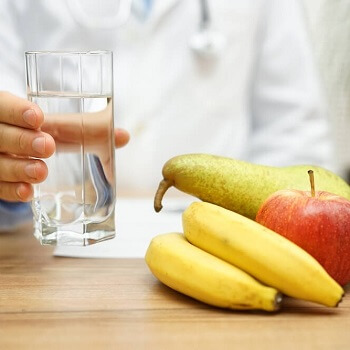 Fruit, vegetables & water are great constipation treatment