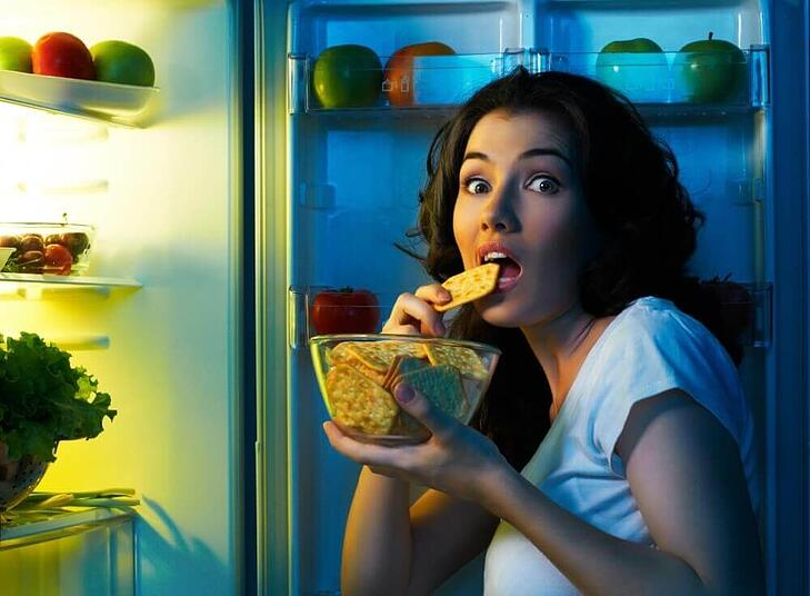 Eating at night may be bad for you