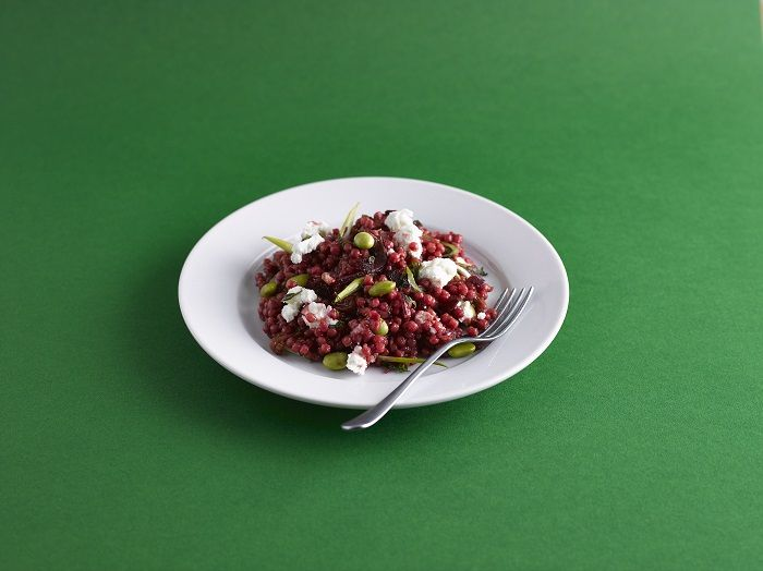 Our fatigue-fighting beetroot couscous