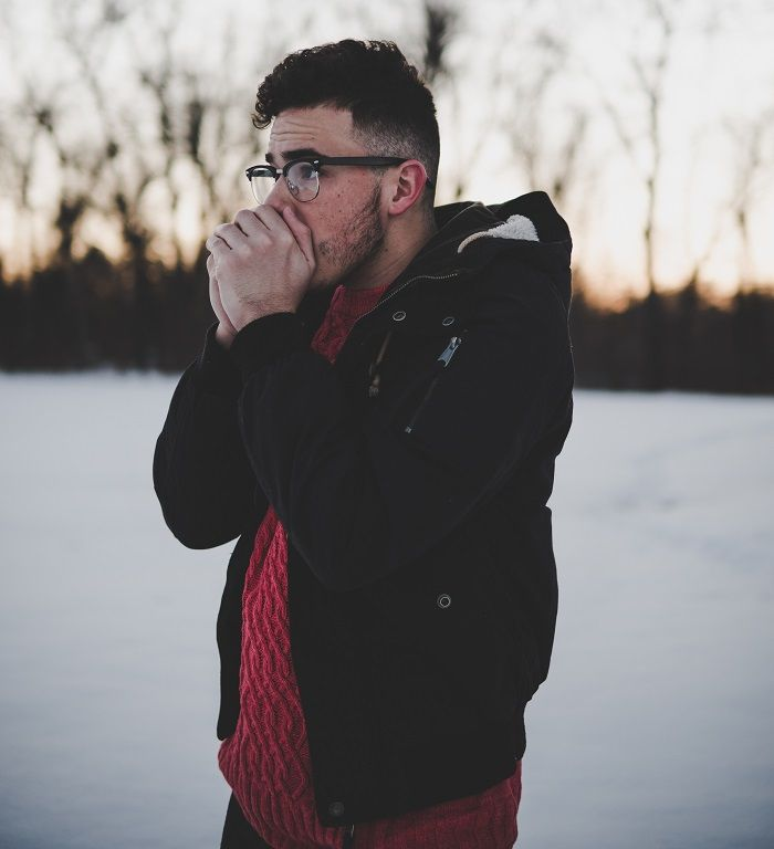 Cold guy