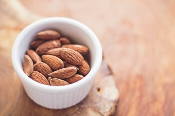 Almonds are good for your brain.