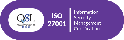 ISO27001 security certified
