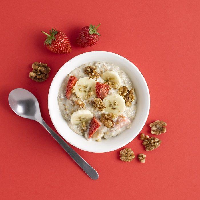 Fruit & nut cinnamon porridge