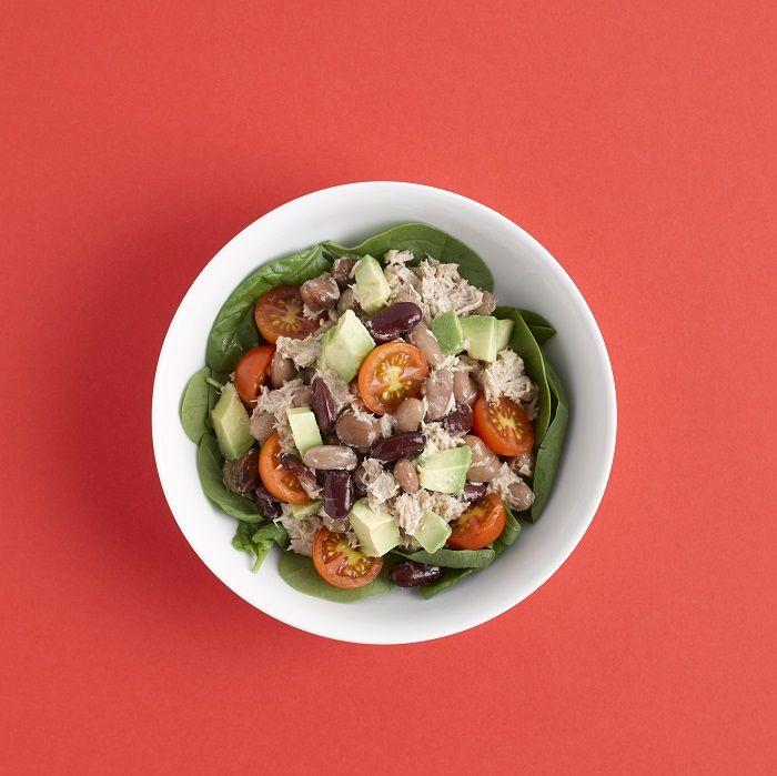 Tuna & mixed bean salad