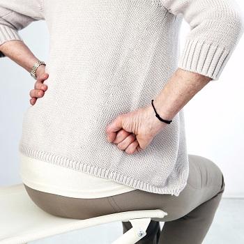 Sciatica can increase hip pain