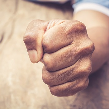 Anger responses can be physical