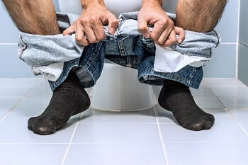 How do you deal with diarrhoea?