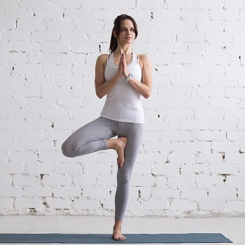 Treating stress with yoga
