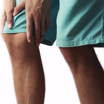 Strain of the knee