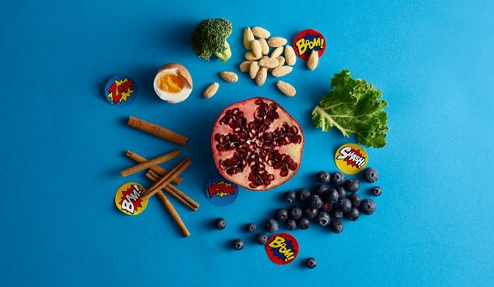 A collection of superfoods