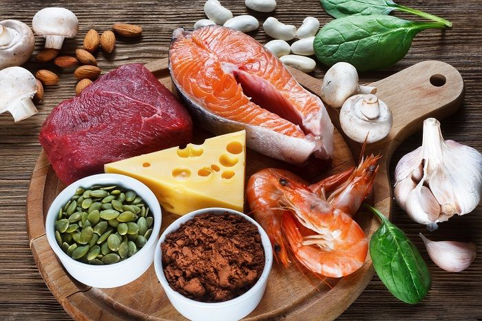 Foods containing zinc
