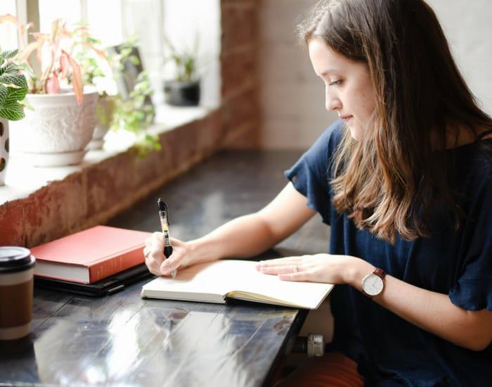 woman-writing