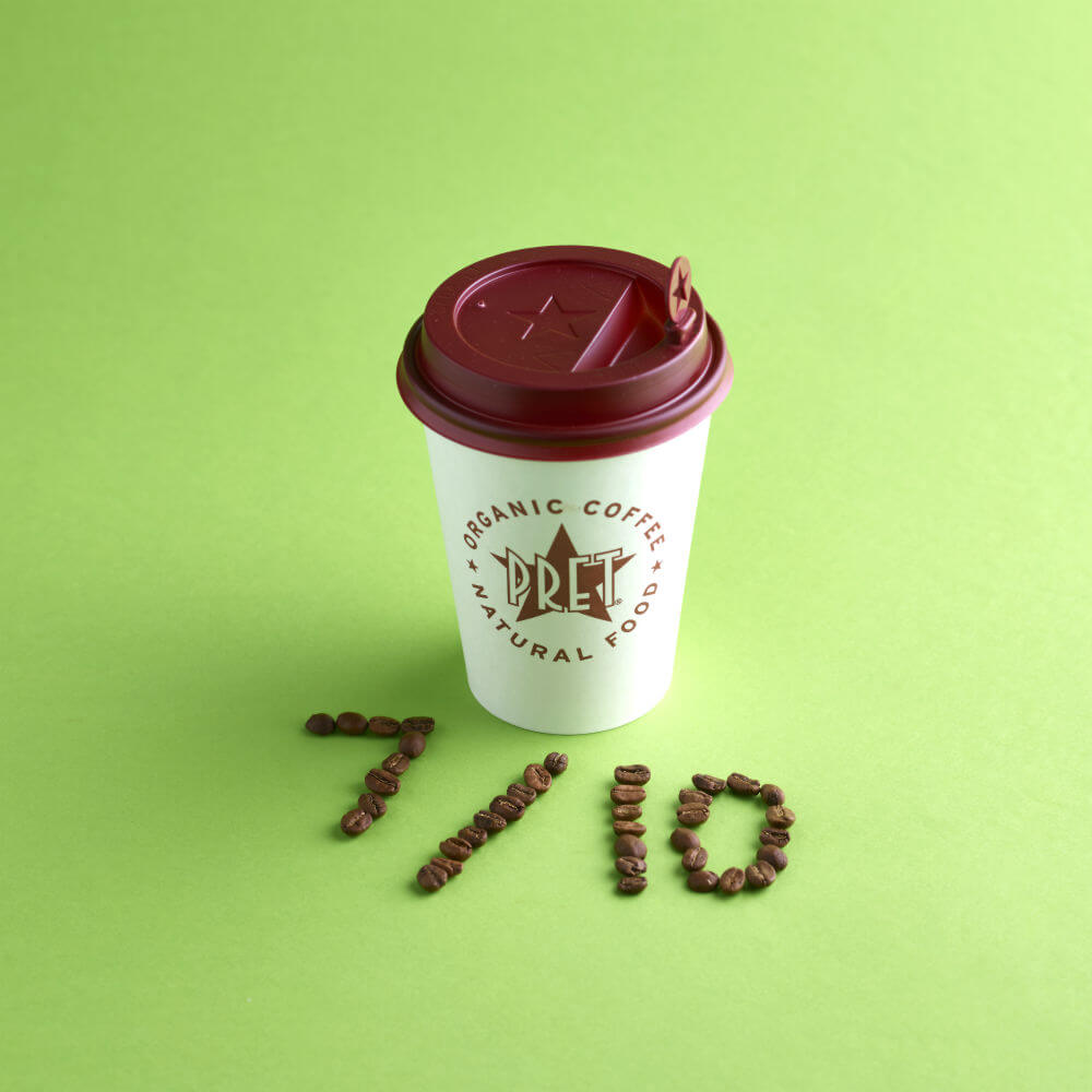Pret White Latte