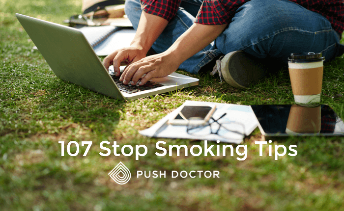107 stop smoking tips by Push Doctor