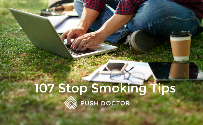 107 Stop Smoking Tips from Push Doctor
