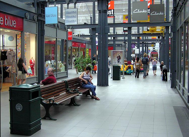 Leigh town centre