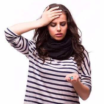 Women with viral infection