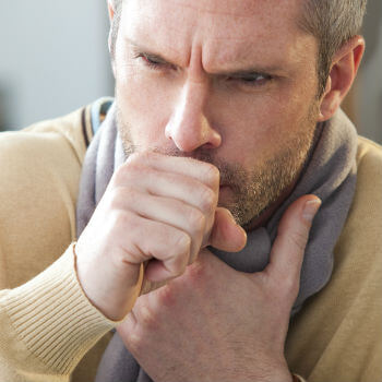 Man with Cough