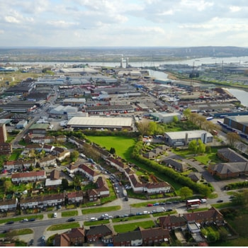 Hanley city centre