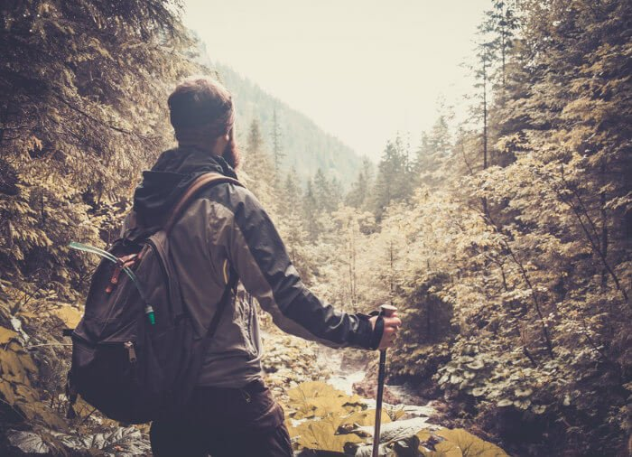 A great tip is to go hiking to curb the cravings.