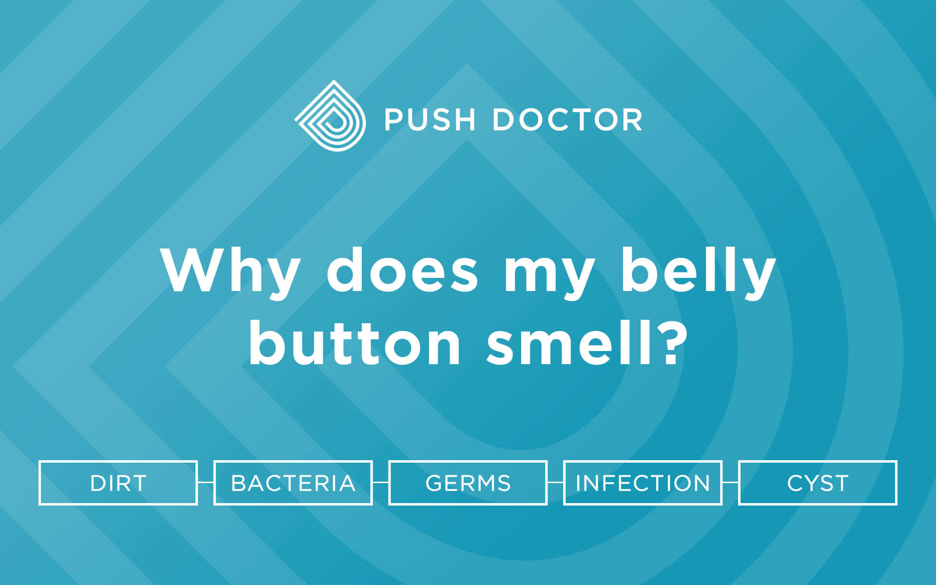 Why does my belly button smell