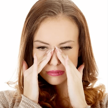 sinusitis-woman