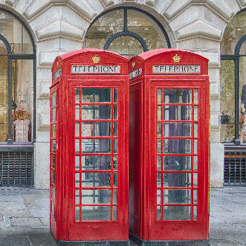Croydon phone box