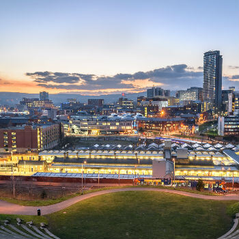 sheffield city scape