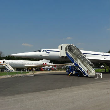 Brooklands concorde Museum -  near weybridge.